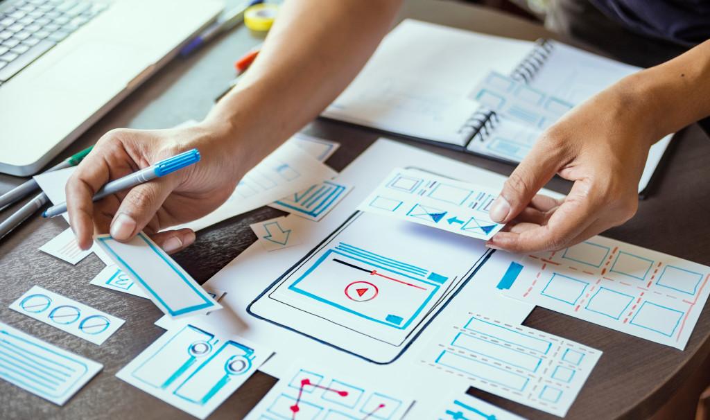 web app design